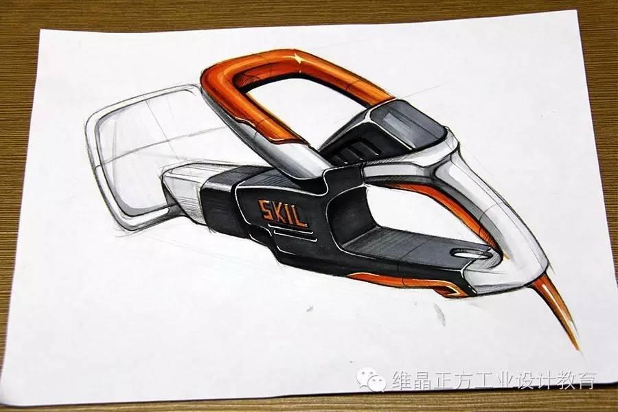 工业设计手绘-老师马克笔示范作品